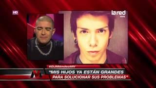 dj méndez aclaró la polémica pelea de sus hijos leo y steffi