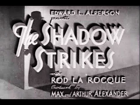 Film-Noir Crime Mystery  Movie - The Shadow Strikes (1937)