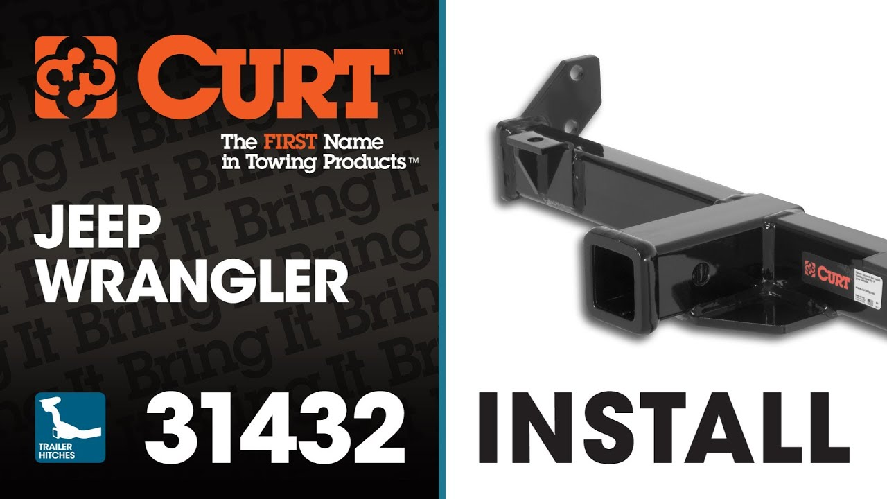 Front Mount Hitch Install: CURT 31432 on 2014 Jeep Wrangler