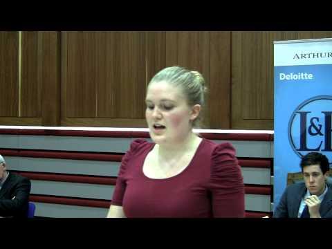 UCD God debate 8/8 - Lucy Murphy