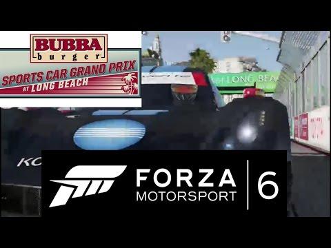 2017 BUBBA burger Sports Car Grand Prix at Long Beach Simulation