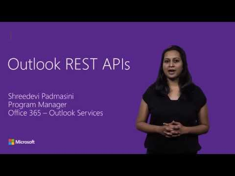 Outlook REST APIs - YouTube