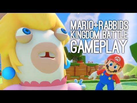 Mario + Rabbids Kingdom Battle Gameplay: Let's Play Mario Rabbids! | LUIGI, SHAME ON THE UNIT