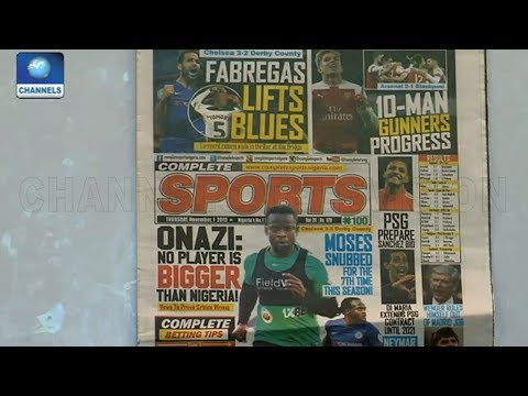 No Player Is Bigger Than Nigeria-- Onazi |Sports This Morning|