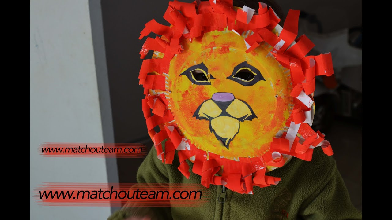 carnaval masque de lion - Masque Lion