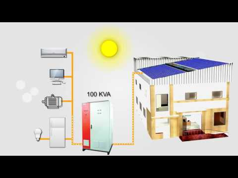 Rooftop Solar solution at Statcon Energiaa