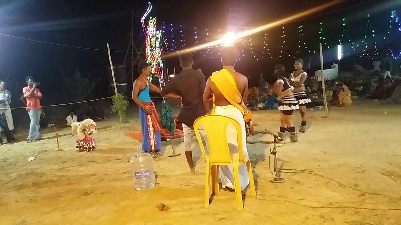 Download Azhagi Sathish mass performance in Chithira Devi karakattam