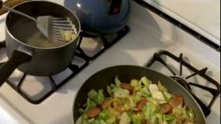 Tutorial-cooking-cabbage And Dumplings W Kielbasa Recipe