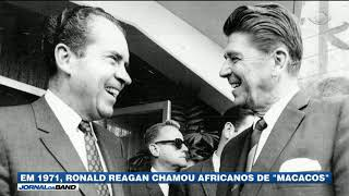 In 1971 Reagan called Africans .apes.. A racist conversation between former US Presidents Ronald Reagan and Richard Nixon was made public after 48 years.