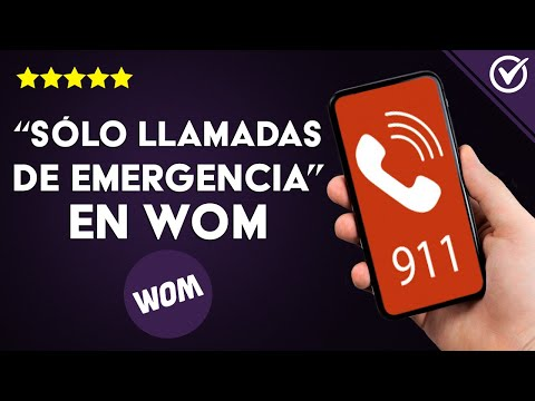 Cómo Solucionar 'sólo Llamadas de Emergencia' en WOM