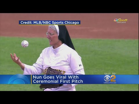 Nun Goes Viral With Ceremonial First Pitch thumbnail