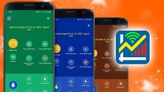 Signal Strength 3G, 4G, 5G, WiFi - Speed Test (v2.1) screenshot 5