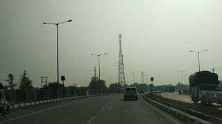 Complete Journey from Hisar to Delhi on National Highway in 11 Minutes (Fast Video)