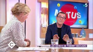 Les adieux de Thierry Beccaro - C à Vous - 08/05/2019