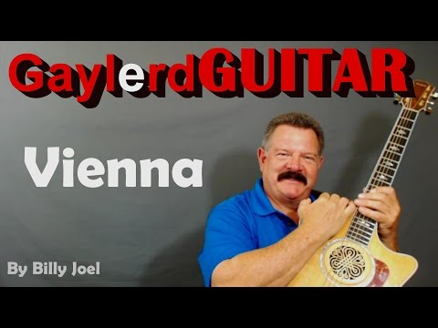 Vienna - Guitar Lesson by Billy Joel How to Play