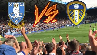 LEEDS FANS GOING MENTAL AT SHEFFIELD WEDNESDAY   SHEFFIELD WEDNESDAY 3-0 LEEDS UNITED 2017/18