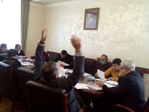 Ապարան համայնքի ավագանու  19.03.2020նիստը - Մաս 2