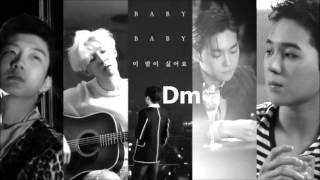 WINNER [위너] - Baby Baby Guitar & Vocal Cover