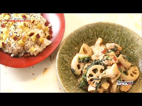 Chef Saito's Miso Stir Fry With Lotus Root And Chicken [Japanese Cooking] - Dining With The Chef