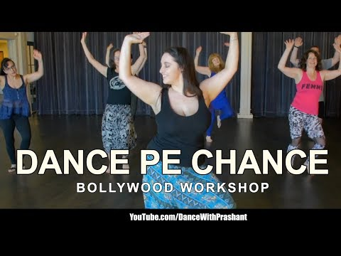 Dance Pe Chance | Bollywood Workshop Dance Video | DJ Prashant