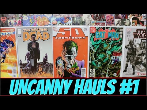 Uncanny Hauls #1 - Enormous Comic Book Haul