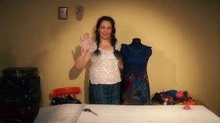 Видео-урок Елены Смирновой. Платье (юбка) из префельта ШЕЛКОГРАФИЯ.  Анонс 3