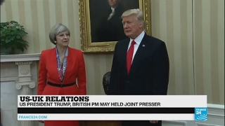 May meets Trump    The UK needs a trade deal with the US