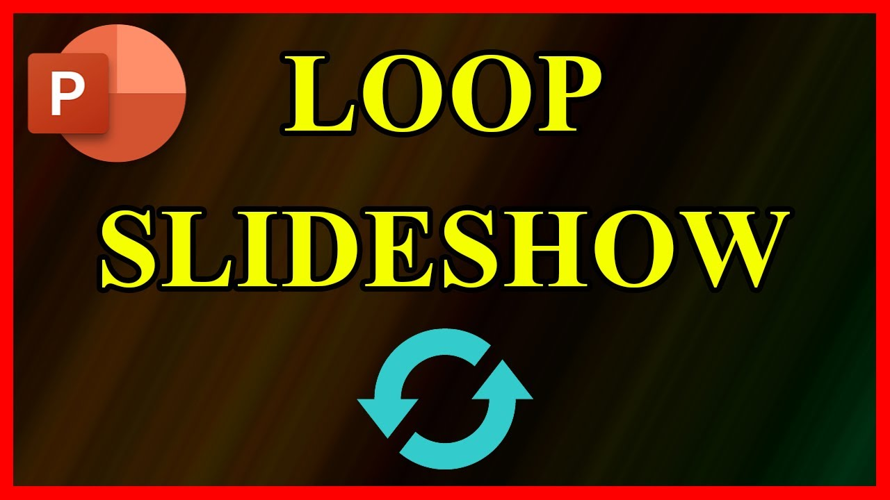 How to make a PowerPoint Presentation loop / repeat itself (2021)