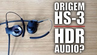 Crowdfunding Preview: Origem HS-3 Bluetooth Smart EarBuds with HDR Audio