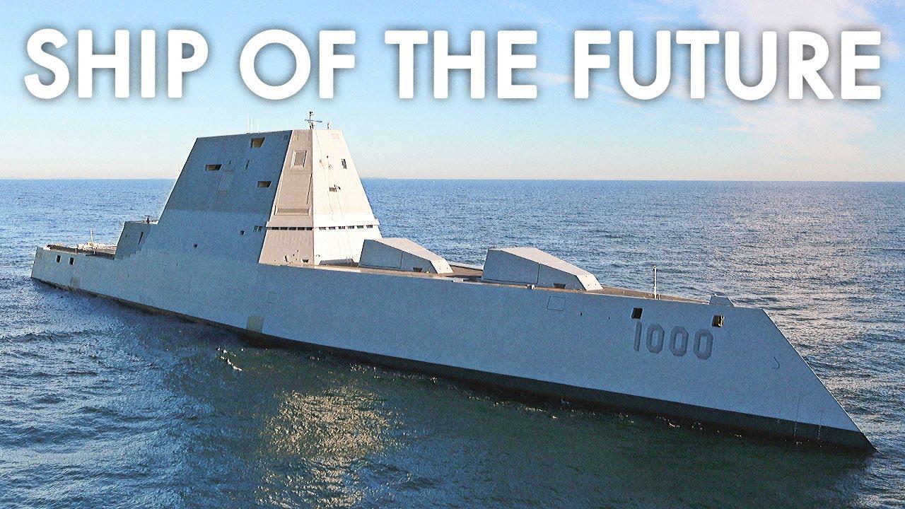 The World's Most Powerful Ship - USS Zumwalt Documentary