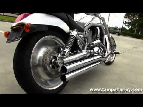 Used 2003 Harley-Davidson VRSCA V-Rod Aluminum with Custom Chrome Exhaust