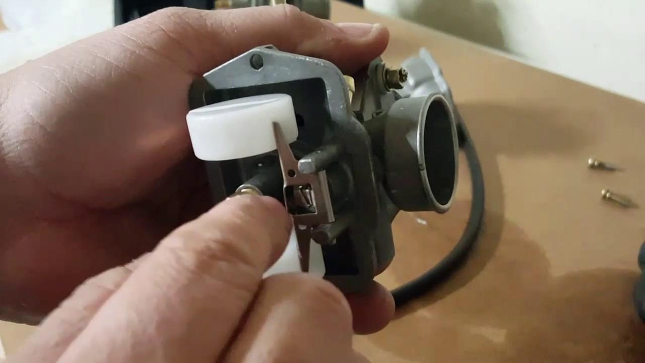 PZ20 Carb Float Adjustment- vent tube fuel leak