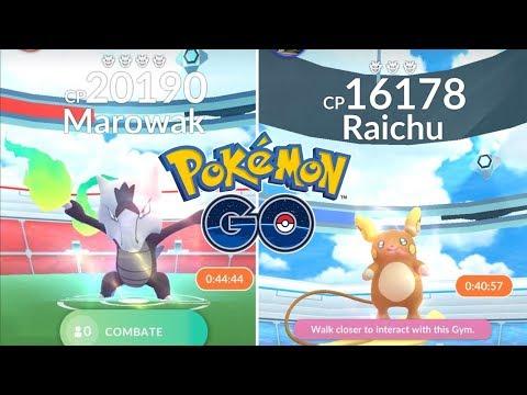 RAICHU Y MAROWAK ALOLA! LISTA COMPLETA DE LAS NUEVAS INCURSIONES! [Pokémon GO-davidpetit]