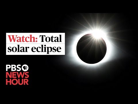 WATCH LIVE: Total Solar Eclipse Darkens Skies Across South America