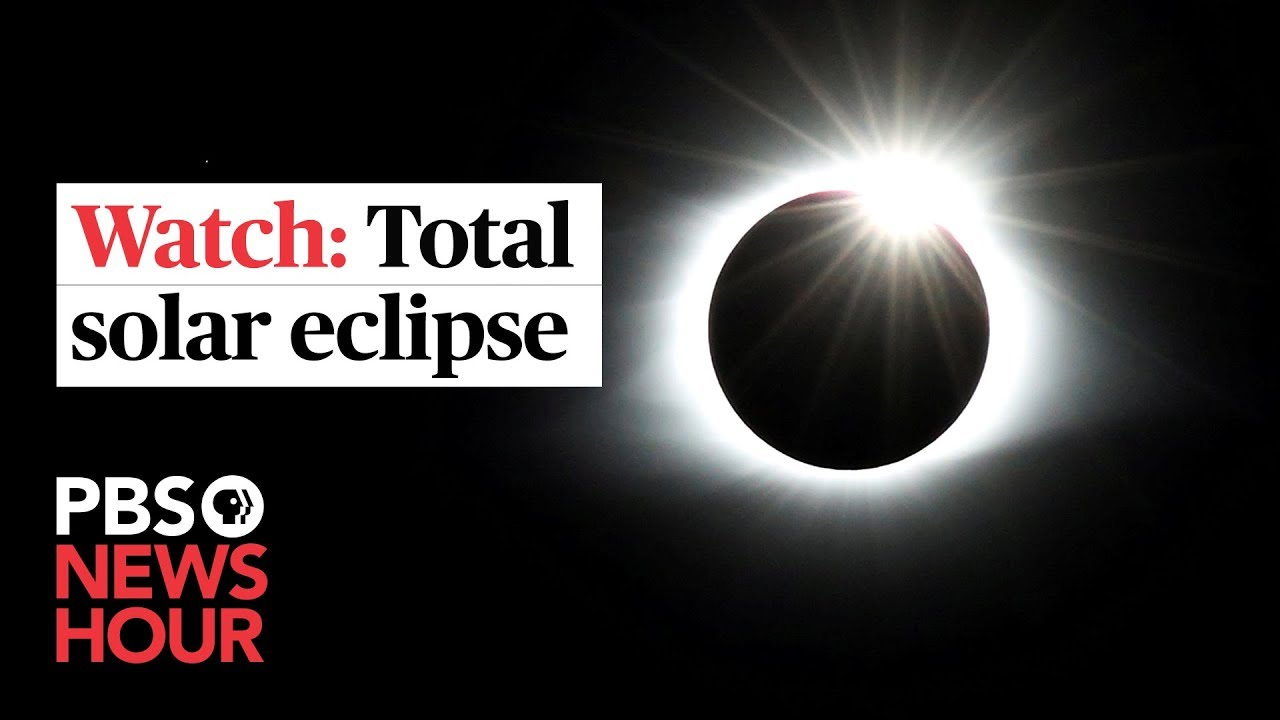 How to watch today's total solar eclipse if you're not in a small portion of South America
