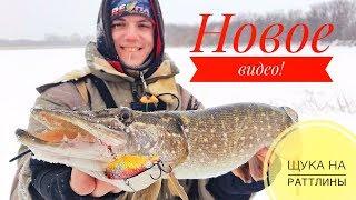 Щука на раттлины зимой Долгожданная рыбалка