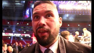 'HE BROKE THAT CHEAT DOWN!!' - TONY BELLEW GOES IN ON POVETKIN, REACTS TO JOSHUA 7th ROUND KO
