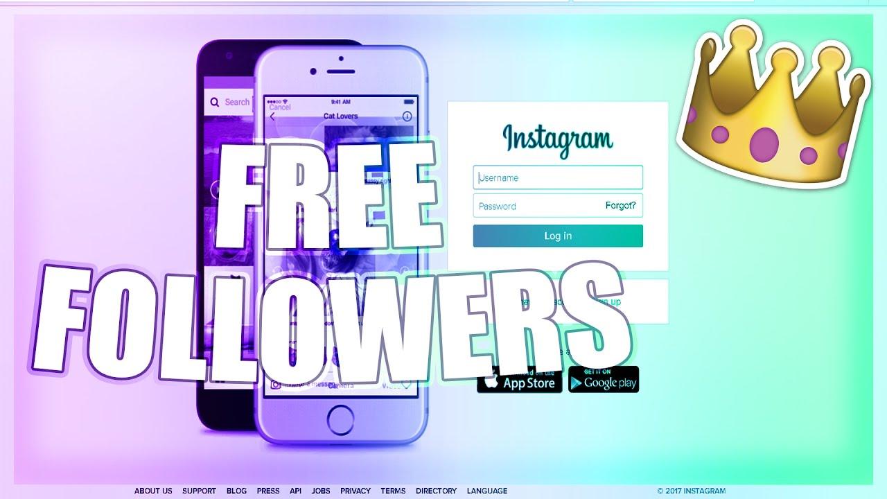 How do you get free instagram followers fast
