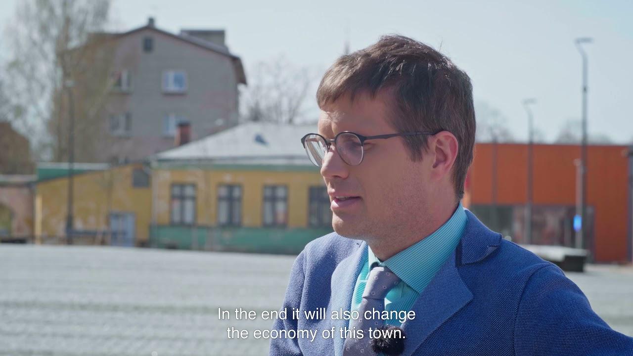 Estonian Pavilion 2021: Square! Positively Shrinking. Video tour.