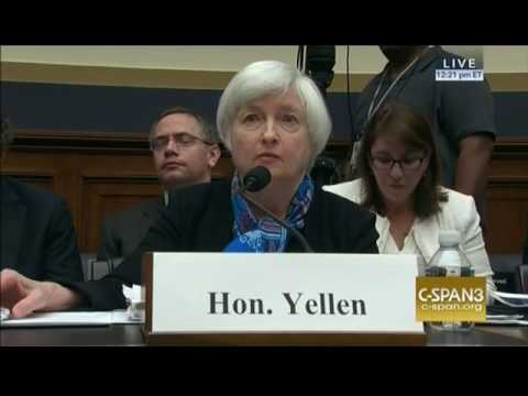 Rep. Garrett to Chair Yellen: why does the Fed favor Wall Street over Main Street?