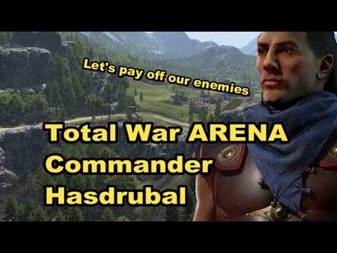 Total War Arena Commander Hasdrubal