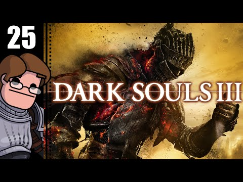 Let's Play Dark Souls 3 Part 25 - Deep Ring, Blessed Gem, Cathedral Ceiling