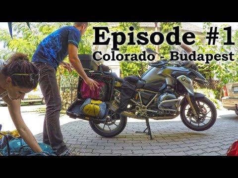 European Motorcycle Adventure - Episode 1 - Budapest, Hungary