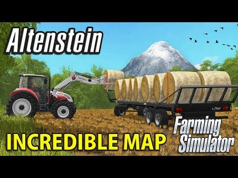 You Have to See This Map - ALTENSTIEN Multiplayer | Farming Simulator 17