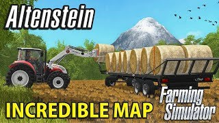 You Have to See This Map - ALTENSTEIN Multiplayer | Farming Simulator 17