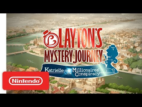 Layton's Mystery Journey - Nintendo 3DS Launch Trailer
