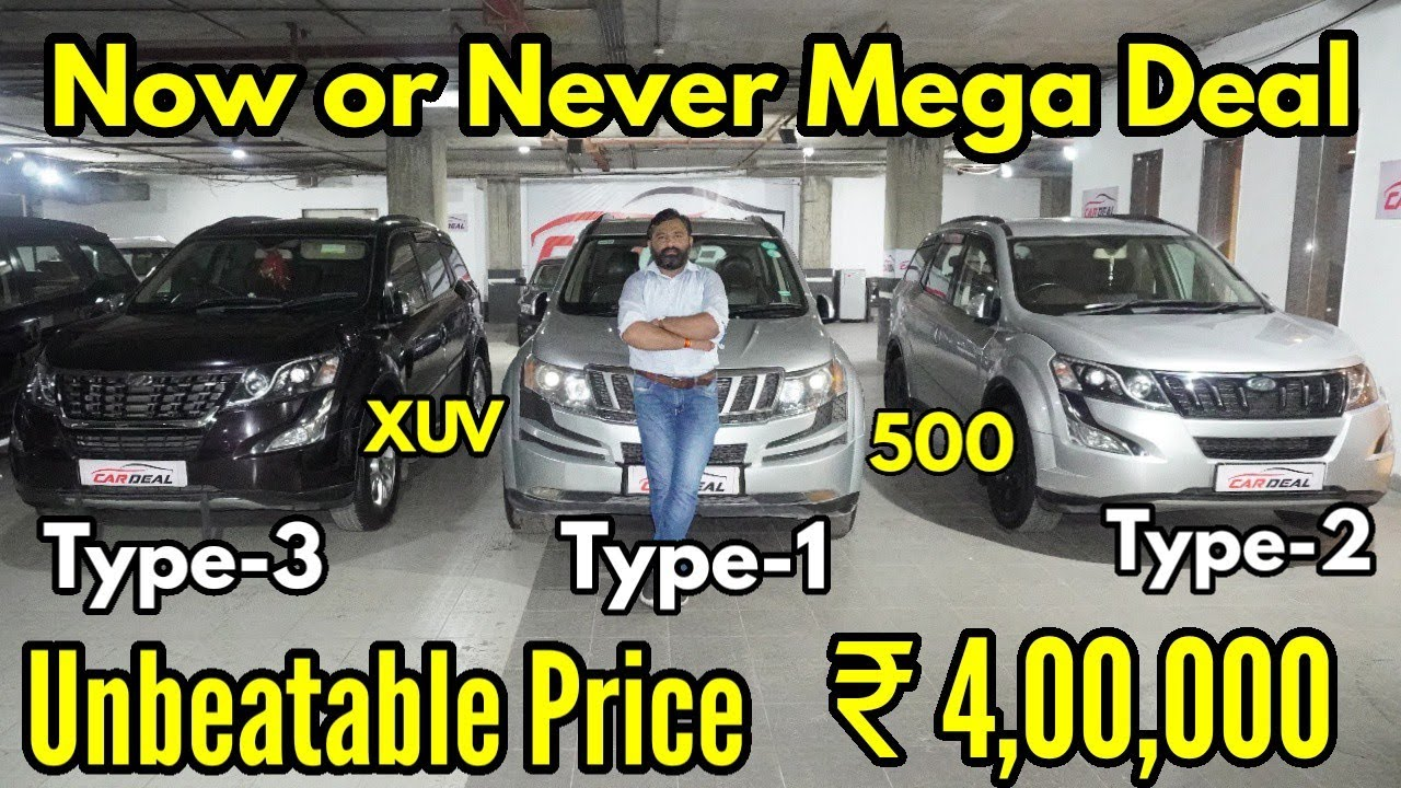 All Type Mahindra XUV 500 Available  Now or Never Mega Deal in Just 4 lac  | NTE
