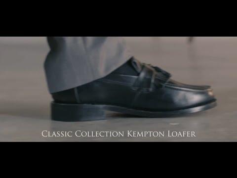 Classic Kempton shoe in black from