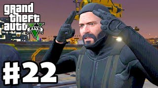 Grand Theft Auto 5 - Gameplay Walkthrough Part 22 - Merryweather Heist (GTA 5, Machete Kills)