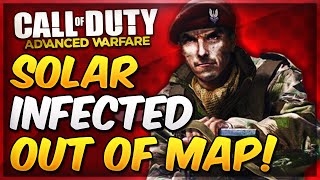 COD Advanced Warfare On Top & Out of The Map SOLAR Glitch After Patch! (AW Solar Infected Glitches)